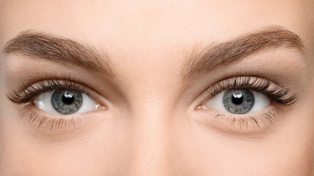 Close up of a female's eyes and brow after Dysport treatments at Elkins Park Family Medicine